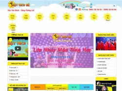 Thiết kế website giáo dục Mặt Trời Bé