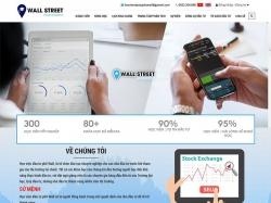 Thiết kế website giáo dục Wall Street