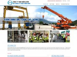 Thiết kế website giới thiệu doanh nghiệp An Toàn Kỹ Thuật Miền Nam