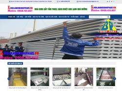 Thiết kế website giới thiệu doanh nghiệp Bình Phát
