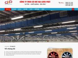 Thiết kế website giới thiệu doanh nghiệp Đại Long Phát