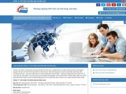 Thiết kế website giới thiệu doanh nghiệp Dương Anh