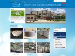 Thiết kế website giới thiệu doanh nghiệp Hoa Thao
