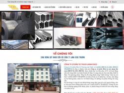 Thiết kế website giới thiệu doanh nghiệp LAMA IDICO