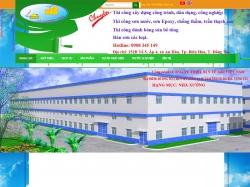 Thiết kế website giới thiệu doanh nghiệp Lê Phương Thảo