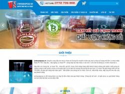 Thiết kế website giới thiệu doanh nghiệp Ly Nhựa
