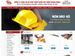 Thiết kế website giới thiệu doanh nghiệp Quang Minh