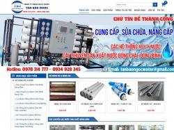 Thiết kế website giới thiệu doanh nghiệp Tân Bảo Ngọc