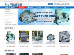 Thiết kế website giới thiệu doanh nghiệp Thắng Lợi