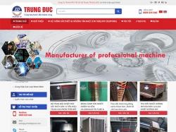 Thiết kế website giới thiệu doanh nghiệp Trung Đức