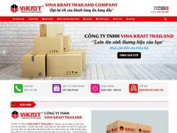 Thiết kế website giới thiệu doanh nghiệp Vikrat