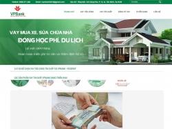 Thiết kế website giới thiệu doanh nghiệp VPBank