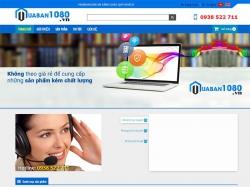 Thiết kế website linh kiện điện tử 1080