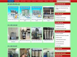 Thiết kế website máy nước nóng QT - TECH
