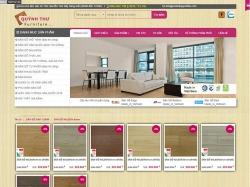 Thiết kế website nội thất gỗ Quỳnh Như