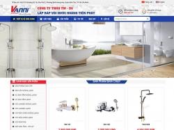 Thiết kế website nội thất Hoàng Tiến Phát