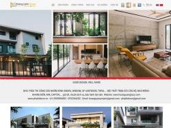 Thiết kế website nội thất Hoàng Uyên
