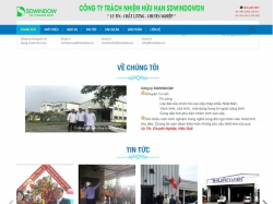 Thiết kế website nội thất SDWINDOWDN