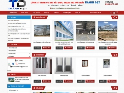 Thiết kế website nội thất Thành Đạt