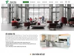 Thiết kế website nội thất Thịnh Phát