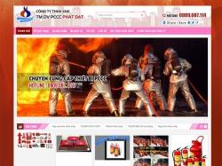 Thiết kế website phòng cháy chữa cháy Công Ty Phát Đạt
