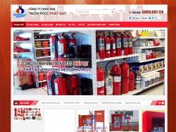 Thiết kế website phòng cháy chữa cháy Công Ty TM DV Phát Đạt