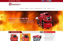Thiết kế website phòng cháy chữa cháy Đông Nam