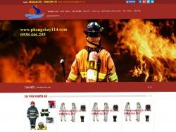 Thiết kế website phòng cháy chữa cháy Phát Đạt