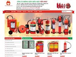 Thiết kế website phòng cháy chữa cháy Tiến Phát