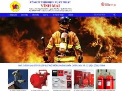 Thiết kế website phòng cháy chữa cháy Vĩnh Mai