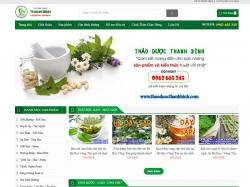 Thiết kế website thảo dược Thanh Bình