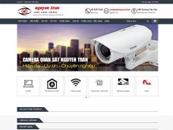Thiết kế website thiết bị camera Nguyên Trân