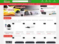 Thiết kế website thiết bị, dụng cụ camera Nacadivi