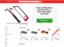 Thiết kế website thiết bị dụng cụ Endure