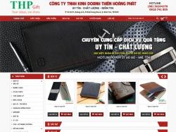 Thiết kế website thời trang Thiên Hoàng Phát