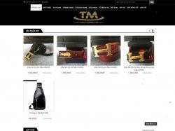 Thiết kế website thời trang Tuấn Minh