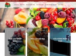 Thiết kế website thực phẩm FruitOne