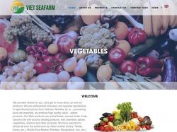 Thiết kế website thực phẩm SeaFarm