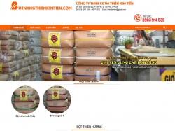 Thiết kế website thực phẩm Thiên Kim Tiến