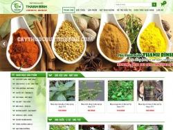 Thiết kế website trà thảo dược Thanh Bình