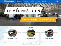 Thiết kế website vận chuyển Phú Vỹ Khang