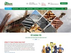 Thiết kế website xây dựng Khang Vinh Phat