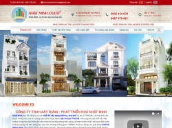 Thiết kế website xây dựng Nhật Minh