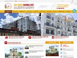 Thiết kế website xây dựng Trường Việt