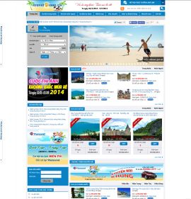 Mẫu website du lịch 1051