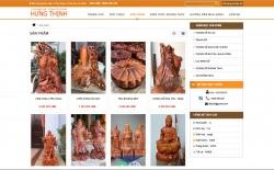 website bán hàng Cơ sở điêu khắc Hưng Thịnh