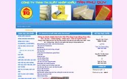 website công nghiệp Công ty Cách nhiệt Cách âm Tân Phú Quý