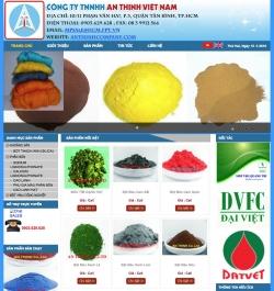 Website công nghiệp Công Ty TNHH An ThịnhViệt Nam