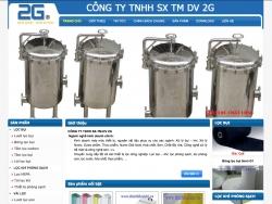website công nghiệpCông Ty Tnhh Sx-Tm-Dv 2G do web số thiết kế