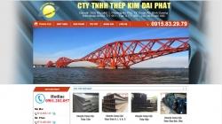 website công nghiệp Công Ty Tnhh Thép Kim Đại Phát